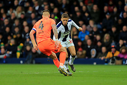 March 9, 2019 - West Bromwich, England, United Kingdom - Dwight Gayle of West Bromwich Albion and Luke Chambers of Ipswich Town during the Sky Bet Championship match between West Bromwich Albion and Ipswich Town at The Hawthorns, West Bromwich on Saturday 9th March 2019. (Credit Image: © Leila Coker/NurPhoto via ZUMA Press)