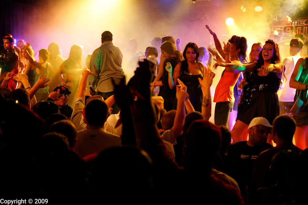 Opening entertainment before The Game Performs at Jake's Nightclub and Bar in Bloomington.