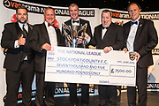 National League North Champions - Stockport County during the National League Gala Awards at Celtic Manor Resort, Newport, United Kingdom on 8 June 2019.