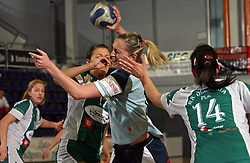 Kristina Mihic of Ptuj at handball game ZRK Mercator Tenzor Ptuj vs RK Olimpija PLK in match for the third place of Slovenian Handball Cup,  on April 6, 2008 in Arena Golovec, Celje, Slovenia. Ptuj won the game 32:22 and placed third.  (Photo by Vid Ponikvar / Sportal Images)