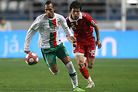20100303: COIMBRA, PORTUGAL - Portugal vs China: International Friendly. In picture: Liedson (Portugal) and Zhang Linpeng (China). PHOTO: CITYFILES