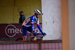 Lauren Kitchen at Strade Bianche - Elite Women 2018 - a 136 km road race on March 3, 2018, starting and finishing in Siena, Italy. (Photo by Sean Robinson/Velofocus.com)
