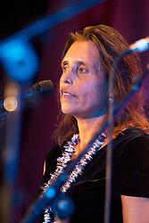 Activist Winona LaDuke, Provincetown, MA, 2012.
