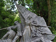 VICKSBURG, MIssissipi - 12 June 2017 - This memorial in the Vicksburg National Military Park, in Vicksburg, Mississipi, commemorates the troops from Alabama (of the Confederates), involved in the Siege of Vicksburg in 1863. Picture: Ryan Eyer.