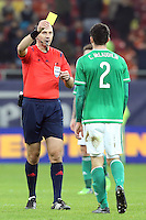 ROMANIA, Bucharest: Referee Jonas Eriksson during the Euro 2016 Group F qualifying football match Romania vs Northern Ireland in Bucharest, Romania on November 14, 2014.