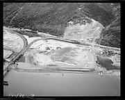 "Ackroyd 18486-3. ""Schnitzer Industries. Fill below RR bridge"" September 6, 1973 (NW Portland, SP&S bridge, Wacker Siltronic)"