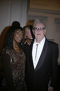 Beverley Heath and John Hoyland, The Royal Academy Schools dinner and auction. Royal Academy. London. 27 March 2007.  -DO NOT ARCHIVE-© Copyright Photograph by Dafydd Jones. 248 Clapham Rd. London SW9 0PZ. Tel 0207 820 0771. www.dafjones.com.
