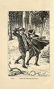 Tommy and Harry Lost in the Snow From the Book ' The history of Sandford and Merton ' by Thomas Day, 1748-1789; with original illustrations by Walter Crane, 1845-1915; Edward, Dalziel, 1817-1905; George Dalziel, 1815-1902 Published in London by Frederick Warne & Co., Bedford Street, Strand in 1890