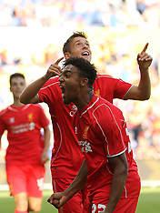 16 Jul 2014 Brøndby - Liverpool FC