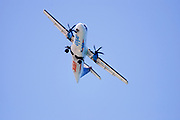 Arkia Airlines ATR 72-212A(500) Propellor aeroplane as seen from below