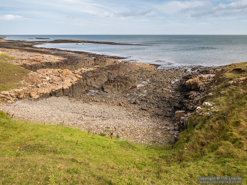 Hole O'The Dike Near Craster, Northumberland