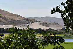 Solar Eclipse 2017 at Farewell Bend State Recreation Area Oregon on the Snake River on the 21st August
