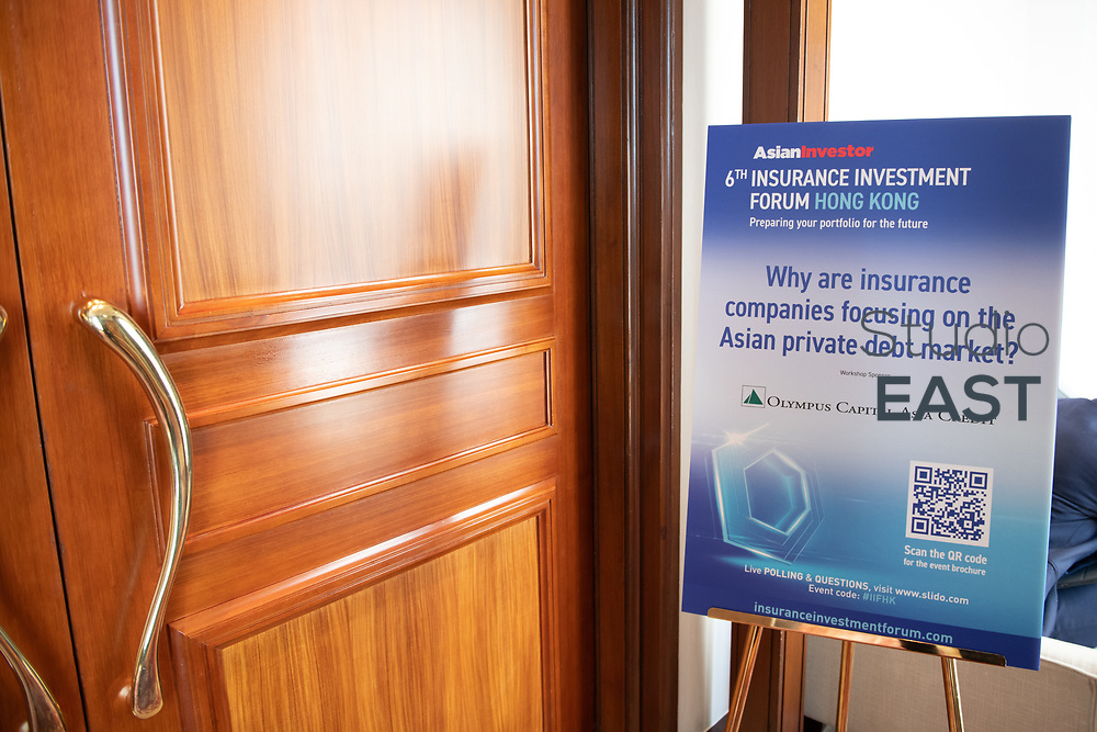 Jupiter luncheon during AsianInvestor's 6th Insurance Investment Forum at the Mandarin Oriental Hotel, in Hong Kong, China, on 12 March 2019. Photo by Lucas Schifres/Studio EAST