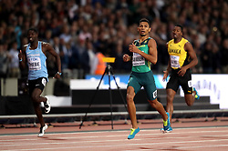 South Africa's Wayde Van Niekerk in action during the Men's 400m Final during day five of the 2017 IAAF World Championships at the London Stadium.