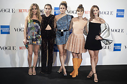 September 13, 2018 - Madrid, Spain - Angela Cremonte, Ana Fernandez, Blanca Suarez, Nadia de Santiago and Ana Polvorosa attends to photocall of Vogue Fashion Night Out 2018 in Madrid, Spain. September 14, 2018. (Credit Image: © Coolmedia/NurPhoto/ZUMA Press)