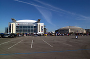 A general overall view of Reliant Stadium (NRG Stadium), let, and the Astrodome, Sunday, Dec. 21, 2003, in Houston.