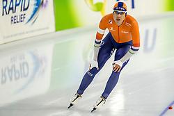 10-11-2017 NED: ISU World Cup, Heerenveen<br /> 500 m men, Kai Verbij NED