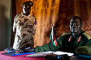 Commander of Yao Barracks where Intrahealth supports a VLC clinic.