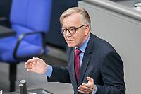 14 FEB 2019, BERLIN/GERMANY:<br /> Dietmar Bartsch, MdB, Die Linke,, Fraktionsvorsitzender, Bundestagsdebatte, Plenum, Deutscher Bundestag<br /> IMAGE: 20190214-01-026<br /> KEYWORDS: Bundestag, Debatte