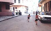 2000 August- Havana, Cuba- ' Street Play '  in Havana, Cuba