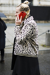 March 4, 2018 - Paris, France - Guest attends The Givenchy Show During Paris Fashion Week on March 4, 2018 in Paris, France. (Credit Image: © Nataliya Petrova/NurPhoto via ZUMA Press)