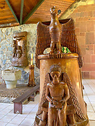 Notre Dame Cathedral, Taiohae, Nuku Hiva, Marquesas; French Polynesia; South Pacific
