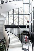 Milan, Corso Como 10 , stairs to the roof top
