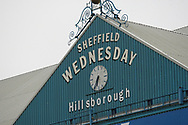 Sheffield Wednesday main stand during the EFL Sky Bet Championship play off second leg match between Sheffield Wednesday and Huddersfield Town at Hillsborough, Sheffield, England on 17 May 2017. Photo by John Potts.