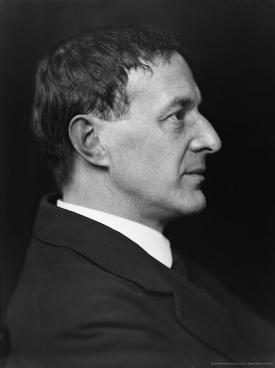 Walter de la Mare, English Author and Poet, 1920