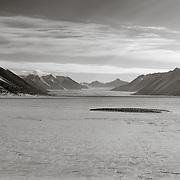 New Harbor and Ferrar Glacier