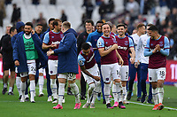 Football - 2020 / 2021 Premier League - Final Round - West ham United vs Southampton - London Stadium<br /> <br /> West Ham United's Mark Noble and Jesse Lingard laughing as they do a lap of the ground at the end of the game.<br /> <br /> COLORSPORT/ASHLEY WESTERN