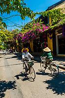 Street scene, Hoi An, Vietnam.