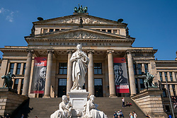 18-05-2019 GER: Berlin is the capital and largest city of Germany, Berlin<br /> <br /> The Konzerthaus Berlin is a building in the German city of Berlin, located on the Gendarmenmarkt. It was designed as a theater by the Berlin architect Karl Friedrich Schinkel.