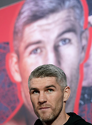 Liam Smith during a public workout at the Grand Central Hall, Liverpool. Picture date: Wednesday October 6, 2021.
