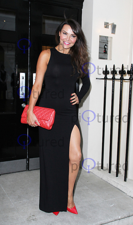 Lizzie Cundy, Fake Bake - Save Our Skin Campaign Party, Haymarket Hotel, London UK, 25 June 2014, Photo by Brett D. Cove