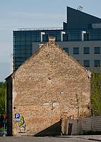 08.04.2012 Bialystok N/z ulica Kijowska w centrum; w glebi budynek TPSA fot Michal Kosc / AGENCJA WSCHOD