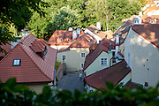 "The ""Novy Svet"" quater - close to the Prague Castle area - seen from above."