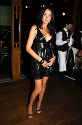 ANNABELLE NEILSON at the party Belle Epoque hosted by The Royal Parks Foundation and Champagne Perrier Jouet held at the Lido Lawns of the Serpentine, Hyde Park, London on 14th September 2006.<br /><br />NON EXCLUSIVE - WORLD RIGHTS