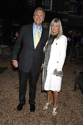 CHARLES & PANDORA DELEVINGNE at the annual Cartier Chelsea Flower Show dinner held at the Chelsea Physic Garden, London on 21st May 2007.<br /><br />NON EXCLUSIVE - WORLD RIGHTS