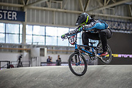 #55 (YOSHII Kohei) JPN at Round 2 of the 2019 UCI BMX Supercross World Cup in Manchester, Great Britain