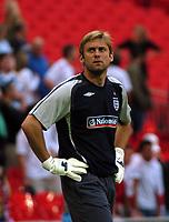 Photo: Tony Oudot.<br /> England v Brazil. International Friendly. 01/06/2007.<br /> Robert Green of England