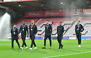 England Under 21 player walking on the pitch at the Vitality Stadium before the U21 International match between England and Germany at the Vitality Stadium, Bournemouth, England on 26 March 2019.
