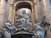 Italy, Rome, interior of the Basilica st peter
