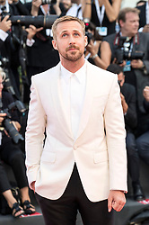 August 29, 2018 - Venice, Venetien, Italien - Ryan Gosling attending the 'First Man' premiere at the 75th Venice International Film Festival at the Palazzo del Cinema on August 29, 2018 in Venice, Italy. (Credit Image: © Future-Image via ZUMA Press)