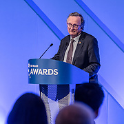 Dr Mike Short is a presenter for 5G Awards ceremony at Drapers' Hall, on 12 June 2019, London, UK.