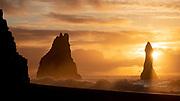 Sunrise at Reynisfjara, Iceland