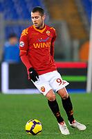 "Jeremy MENEZ Roma<br /> Roma 26/1/2010 Stadio ""Olimpico""<br /> Roma Catania 1-0<br /> Coppa Italia 2009/2010<br /> Foto Andrea Staccioli Insidefoto"
