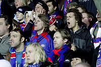 Fotball<br /> Tippeligaen Eliteserien<br /> 13.04.08<br /> Åråsen Stadion<br /> Lillestrøm LSK - Vålerenga VIF <br /> Supportere - sinne - Klanen<br /> Foto - Kasper Wikestad
