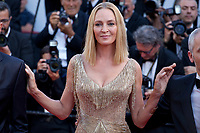 Uma Thurman, President of the Un Certain Regard  Jury, arriving to the Closing Ceremony and awards at the 70th Cannes Film Festival Sunday 28th May 2017, Cannes, France. Photo credit: Doreen Kennedy