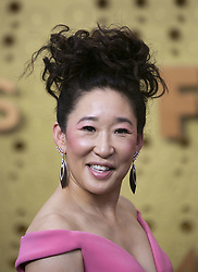 September 22, 2019, Los Angeles, California, USA: SANDRA OH on the red carpet of the 71st Emmy Awards held at the Microsoft Theater in Los Angeles, California. (Credit Image: © Ariana Ruiz/Prensa Internacional via ZUMA Wire)